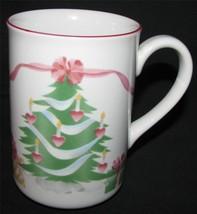 Home For Christmas Sango Coffee Mugs Cup 4 Holiday Chocolate Presents #4829 Tree - $47.11