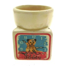 Vintage Sooty Egg Cup - Sooty in Trouble Keele ... - $37.37