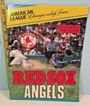 1986 American League Championship Series California Angels vs Boston Red... - $14.85