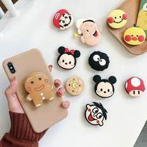 Mobile Phone Holder For Iphone Samsung Xiaomi 3D Cute Cartoon Fold Finge... - £3.78 GBP