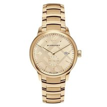 Burberry BU10006 The Classic Round Gold Tone Bracelet Watch 40 mm - Warr... - $422.00