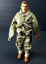 "Hasbro 1996 GI Joe Army 11"" US Marine Corps Action Figure military er-bb... - $35.96"