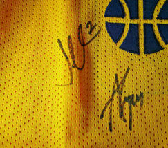 UTAH JAZZ / 2018 TEAM SIGNED YELLOW CUSTOM JERSEY / 13 SIGNATURES / FULL LOA image 5