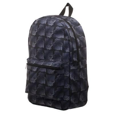 Black Panther Sublimated Black Backpack Black