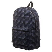 Black Panther Sublimated Black Backpack Black - $32.98