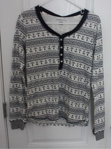 Vintage Thermal Pajama Top Only by Tommy Hilfiger Size XS - $14.01
