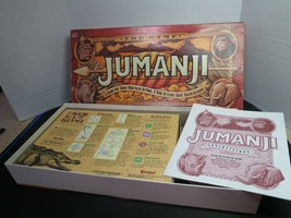 Jumanji Action Board Game For Kids Ages 5+ 1995 Complete In Box - $12.95