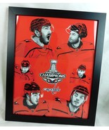 "Washington Capitals Stanley Cup Champions 2018 Framed Artwork Poster 16""... - $99.99"