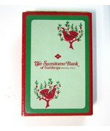 Vintage Deck of DeVille Playing Cards Advertising Sumitomo Bank of Calif... - $9.99