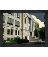 """Bowling Green State University """"Moseley Hall"""" 13x16 Art Deco Framed Print  - $39.95"""