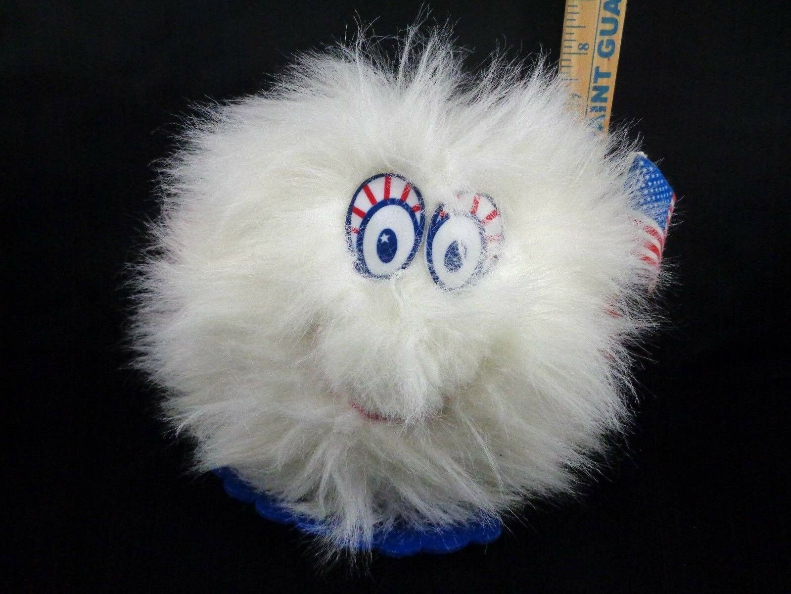 Primary image for Russ Berrie Little Brownie Cookie Campaign Buddy Plush Stuffed USA Flag 4th July