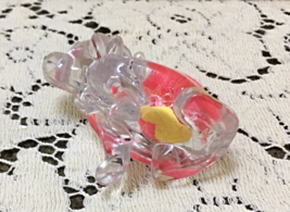 Vintage KITSCHY Clear Lucite Plastic Dog Pin Cushion // Retro Sewing Supplies image 4