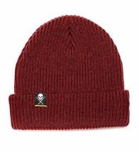 Sullen Art Collective New Era Shoreman Tattoos Knit Burgundy Beanie Hat ... - $27.28