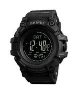 1358 3ATM Waterproof Smart Watch-Black - $33.99
