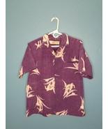 Charlie-Richard Mens Made in Hawaii Short Sleeve Vintage Hawaiian Shirt ... - $24.75