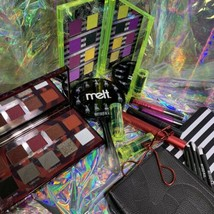 Melt X Beetlejuice Lydia Mirror, Brush Set & Bag ( pouch / Clutch) NWOB FROM PR image 2
