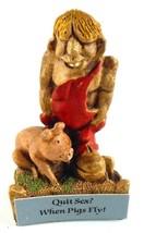 Bill Vernon Shade Tree Creations Hillbilly Redneck Quit Sex When Pigs Fl... - $14.99