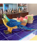 Mortimer the Macaw Tropical Parrot Statue - $50.51