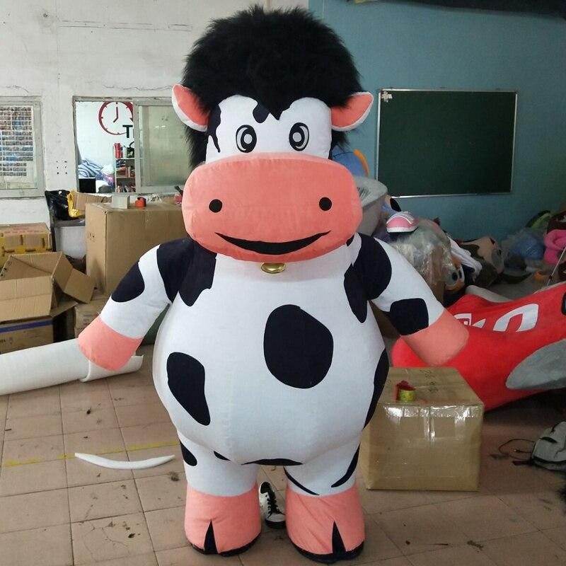 Cow mascot  inflatable doll costumes inflat mascot image 5