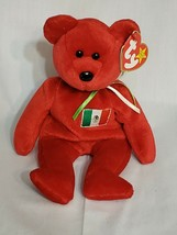Beanie Babies Osito -RARE (1999) - Vintage Collectible- Very Good Condition Red - $14.31