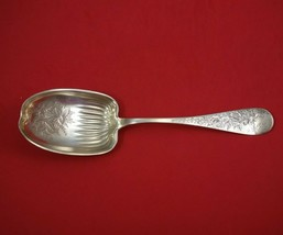 Brite-Cut by Unknown Sterling Silver Salad Serving Spoon Ribbed Bowl BC ... - $259.00