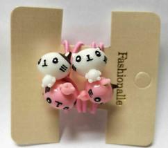 Fashionalle Hello Kittty Kitten Hair Tie, Pink/White - $5.93