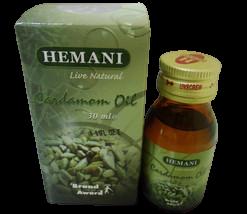 Hemani 30ml Cardamom Oil 100% Pure & Natural Many Benefits Usa Seller Fast Ship - $4.95