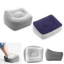 Inflatable Footrest Cushion Pillow Rest Foot Leg Travel Bed Home Kids Po... - €8,80 EUR
