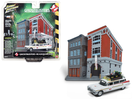 1959 Cadillac Ecto-1A Ambulance Diorama from Ghostbusters II 1/64 Diecast - $33.50