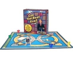 Can You Beat Ken? Board Gamenew Jeopardy Boardgame New a2 - $8.41