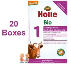 Holle Stage Pre Organic Infant Formula with DHA 20 Boxes 400g Free Shipping - $472.95