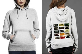 Analogue cassette Classic Hoodie Women White - $29.80