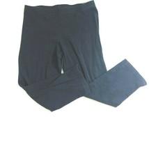 New York & Co Womens Size Small Comfort Zone Navy Blue Capri Leggings - $11.30