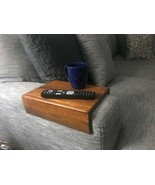 Table Tray Sofa Arm Armrest Serving Coffee Handmade Couch Desk Rest TV R... - $54.45+