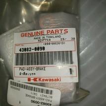 New 2009 - 2014 Genuine Kawasaki Klx 250 S Sf Rear Brake Pad Set 43082-0090 - $54.45