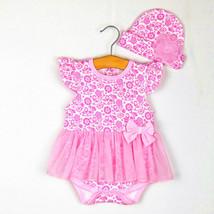 2pcs Girl Baby Toddler Cap Hat+Romper Bodysuit Tutu Outfit Kids Clothing... - $31.00