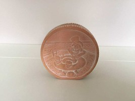 Extremely Rare! Walt Disney Scrooge McDuck Old Coin Ceramic Piggy Bank - $346.50