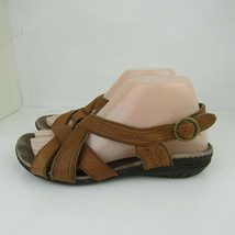 Merrell Open Toe Sandals Shoes Womens Size 7 Performance Footwear Tan Le... - $18.69