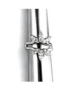 14K W.GOLD 18 DIAMOND STARBURST INSERT (.55 CTW) for ENGAGEMENT RING ENH - $749.00
