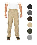 Men's Tactical Combat Military Army Work Slim Fit Twill Cargo Pants Trou... - $26.95