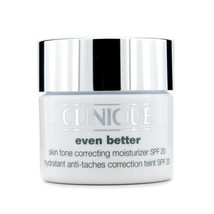 CLINIQUE Even Better SKIN TONE CORRECTING Moisturizer Cream VERY DRY 1.7... - $47.25