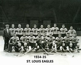 1934-35 St. Louis Eagles Team 8X10 Photo Hockey Picture Nhl - $3.95