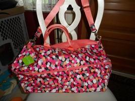 Vera Bradley Lighten up Expandable travel Bag in Pixie Confetti - $55.00