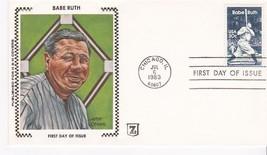 BABE RUTH #2046 CHICAGO, IL JULY 6, 1983 Z SILK H & M CACHET D-1262a - ₹228.14 INR