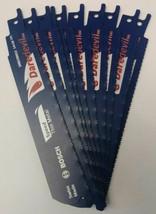 "Bosch Daredevil DRECM6X2 6"" x 14+18 TPI Thin Metal Reciprocating Blades ... - $11.88"
