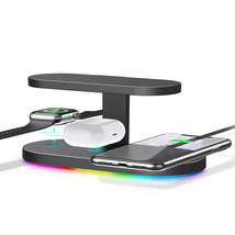Techno S UV Sterilizer & 3-in-1 Wireless Charger for Apple, Samsung + Adapter - $66.83
