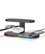 Techno S UV Sterilizer & 3-in-1 Wireless Charger for Apple, Samsung + Ad... - $66.83