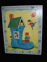 Fuzzy Wuzzy Preschool Frame Tray Puzzle Whitman 1967 - $16.99