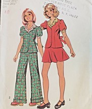 Simplicity Sewing Pattern 5943 Jacket Puff Sleeve Pants Wide Cuff Skirt ... - $5.93