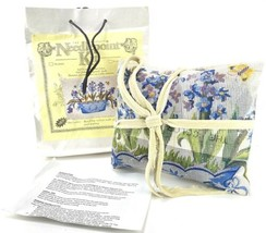 Hand Painted Canvas Needlepoint Pillow Top Kit Hyacinth in Planter South... - $222.75